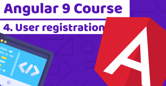 Angular Course with Tailwind CSS – Lesson 4: User registration – Duomly