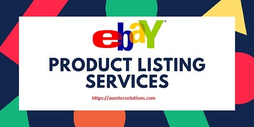 eBay Product Data Entry Services
