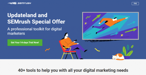 SEMrush Free Trial for 14 Days In 2020: Worth $99.95
