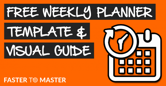 FREE Weekly Planner Template To Ace Your Weekly Schedule