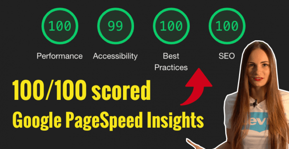 How to increase your website speed and score 100 on Google PageSpeed Insights