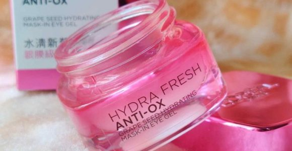 Loreal Hydrafresh Anti Ox Grape Seed Hydrating Mask-In Eye Gel Review