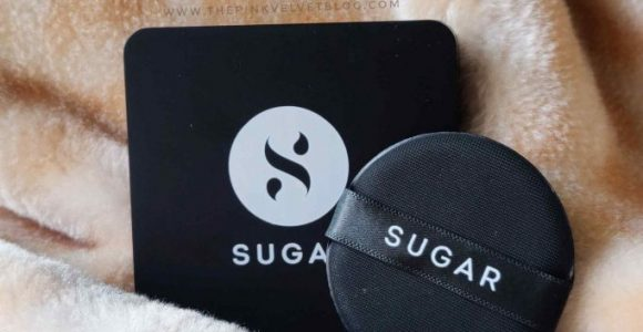SUGAR Power Clay SPF20 BB Cushion Review 10 Latte