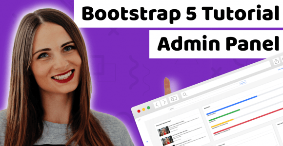 How to build Bootstrap admin template tutorial