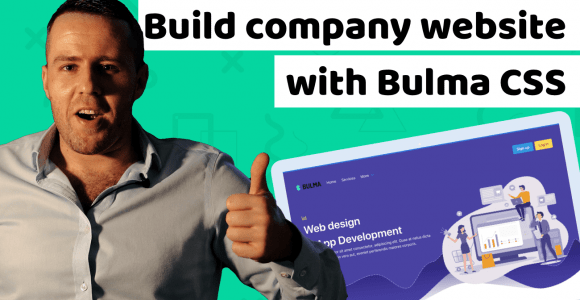 How to build company website with Bulma CSS