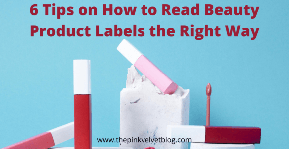 How to Read Beauty Product Labels