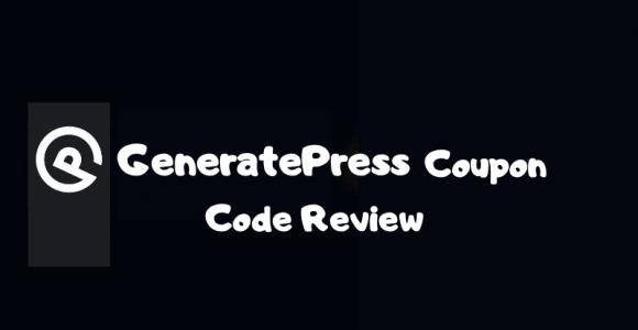 GeneratePress Coupon Code | Get Maximum Discount in 2020