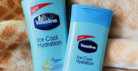 Vaseline Ice Cool Hydration Body Lotion Review