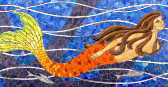 Mermaid mosaic art, a sub-genre in its own right