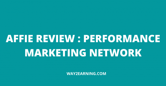 Affie Review : Performance Marketing Network
