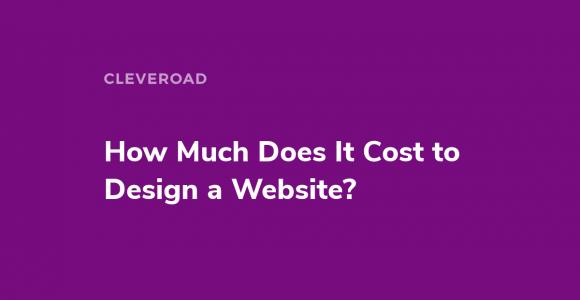Сustom website design cost