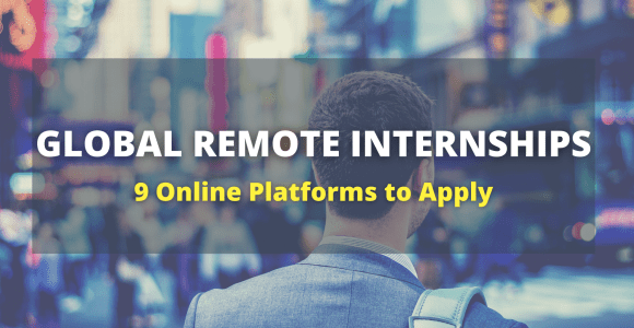 9 Platforms where you can apply for Remote Internships