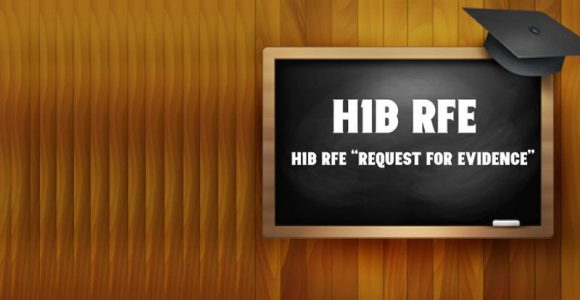 H1B Visa RFE – What Does It Mean?