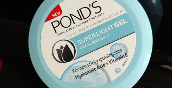 Ponds Super Light Gel Moisturizer Review