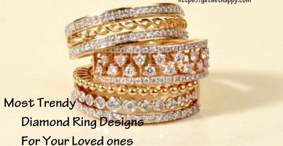 5 most Trendy Diamond Ring Designs for Your loved one on this Diwali | GetSetHappy
