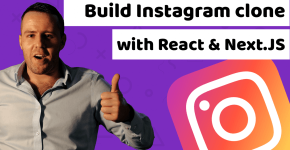 How to build an Instagram clone with react js, next js and bootstrap 5 tutorial for beginners