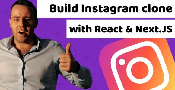 How to build an instagram clone with react js and next js tutorial for beginners