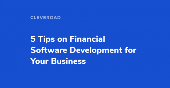 Cloud based financial software