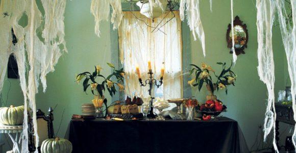 Creating stylishly spooky home interior Halloween decor