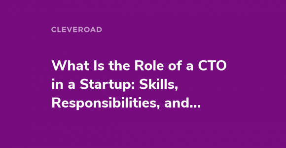 Startup CTO