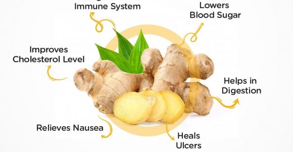 Ginger for a Healthy Life   Health Tips by SMILES
