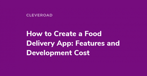 Make your own food delivery app