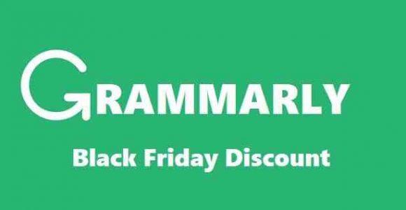 Grammarly Black Friday Discount 2020 – Get 60% Discount🔥
