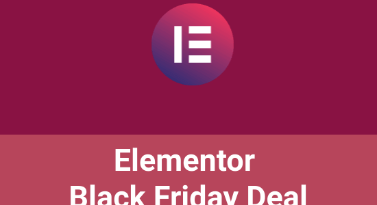 Elementor Black Friday 2020: 30% Off [New + Upgrade]