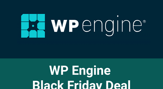 WP Engine Black Friday 2020: 5-Months Free Hosting + Genesis