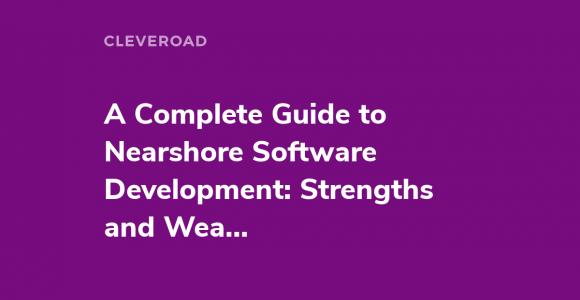Nearshore Software Development