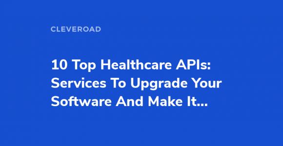 Health APIs