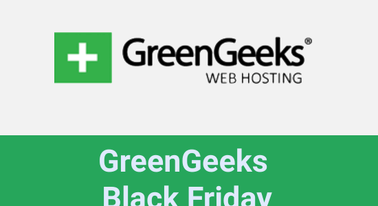 GreenGeeks Black Friday 2020: Flat 75% Off + Free Domain