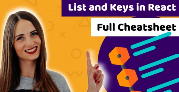 List and keys in React – full cheatsheet