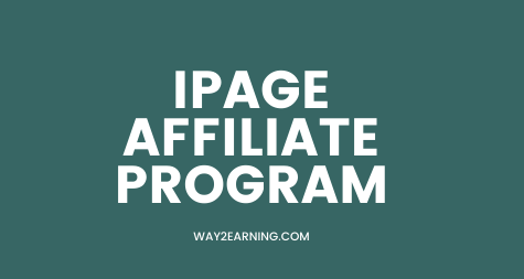 IPage Affiliate Program Review: Recommend And Earn