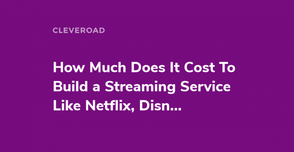 Start your own streaming service