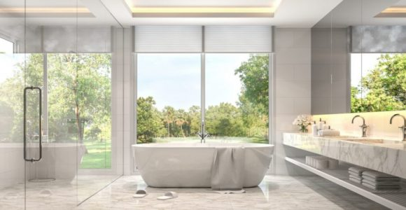 5 terrific tips to turn your old bathroom into a fabulous spa.