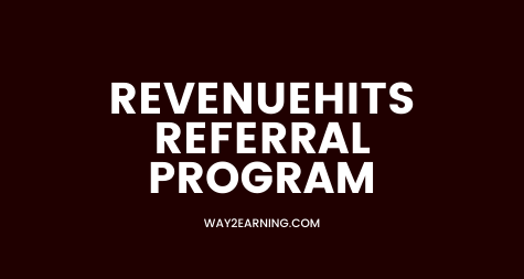 Revenuehits Referral Program: Join, Refer And Earn 10% Cash