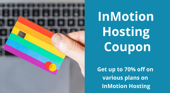 InMotion Hosting Coupon: Up to 70% off