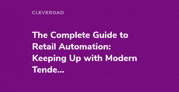 Retail automation solutions