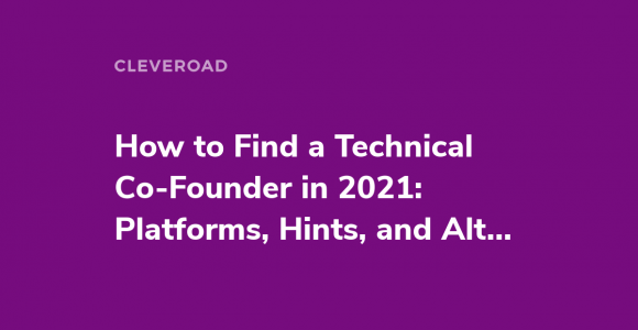 Finding a Technical Cofounder