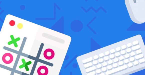 Build a tic tac toe game in Javascript course