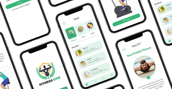 Fitness App Design | Mobile App Design
