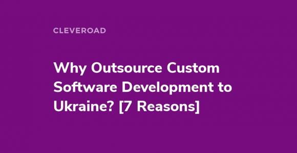 Outsourcing software development ukraine