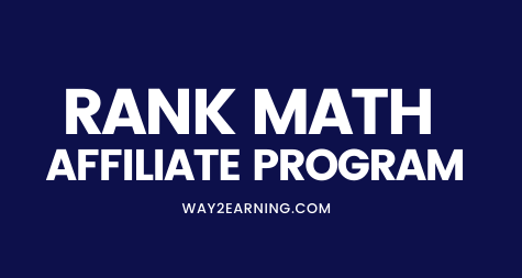 Rank Math Affiliate Program (2021): Join And Earn Cash