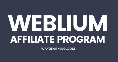 Weblium Affiliate Program: Earn Up To 50% Profit Per Sale
