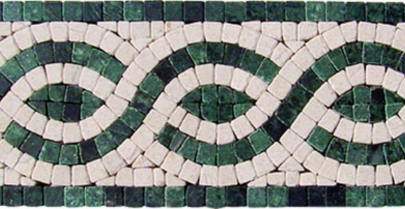 The classical beauty and boundless potential of mosaic borders
