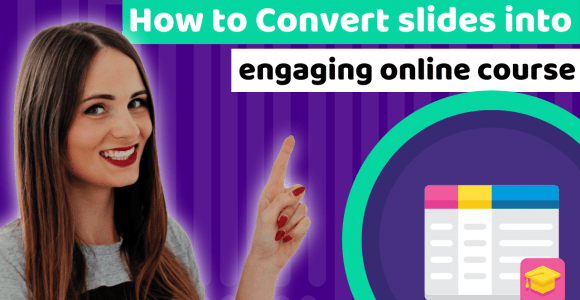 How to add audio to Google Slides, Power Point, or Keynote presentations and convert them to online courses