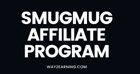 SmugMug Affiliate Program: Join And Earn Cash
