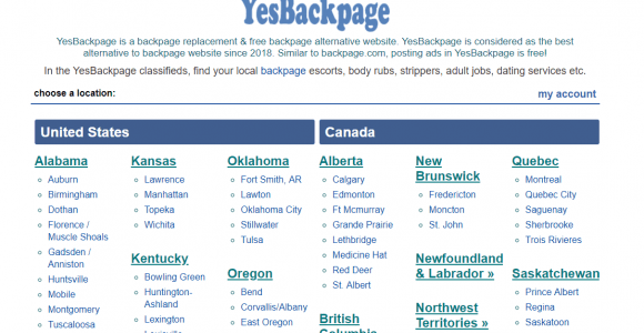 10 Best YesBackpage Alternatives and Similar Sites