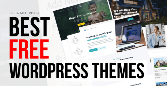 Only 5 Best Free WordPress Themes for Blogging & Business.